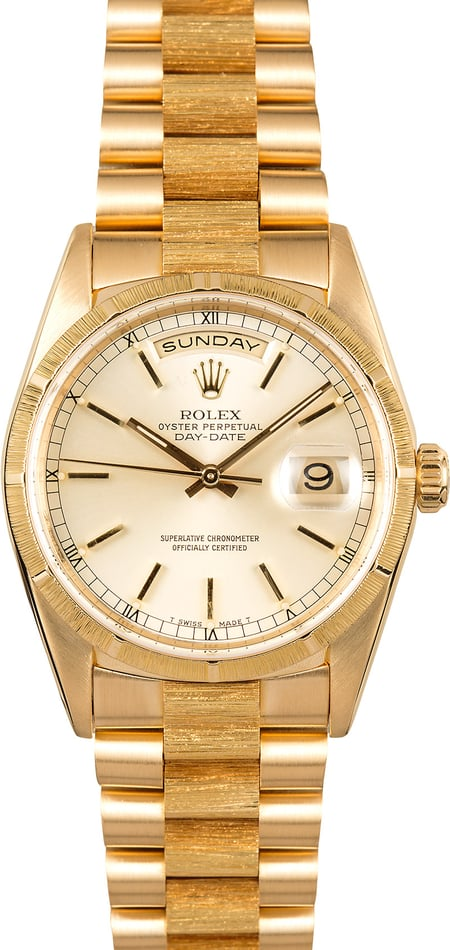 Rolex Day-Date Presidential 18248 Bark Finish