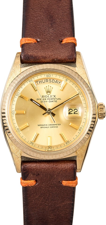 Rolex Day-Date Vintage 1807 Morellis Finish