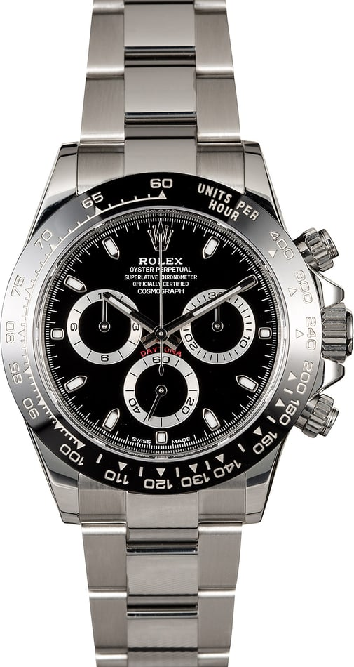 Rolex Daytona Cosmograph 116500LN Certified Pre-Owned