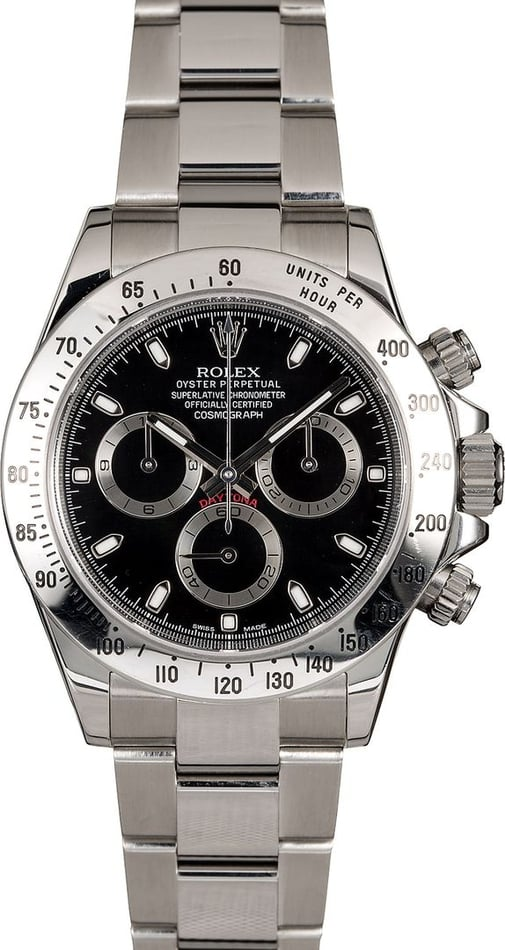 Men's Rolex Daytona 116520 Steel