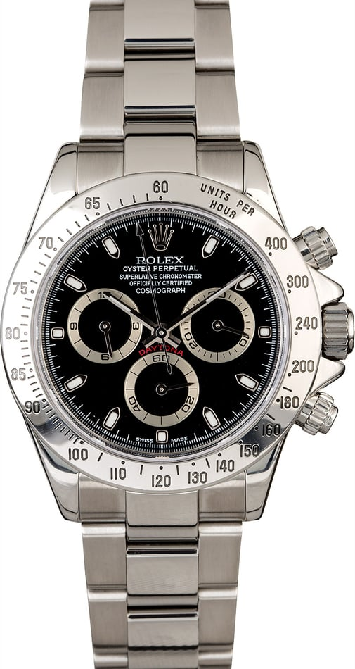 Rolex Daytona 116520 Stainless Steel Men's Watch