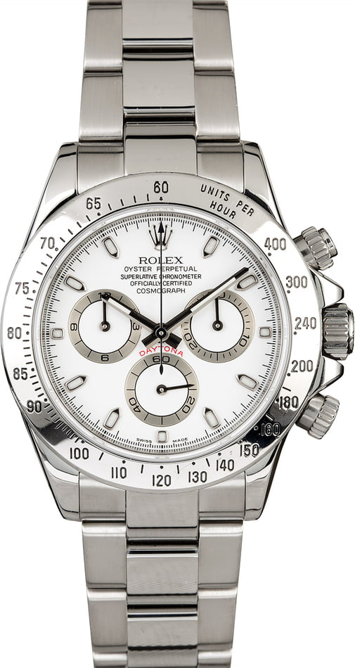 Rolex Daytona 116520 Stainless Steel Oyster