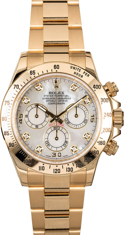 Rolex Daytona 116528MDO Mother of Pearl
