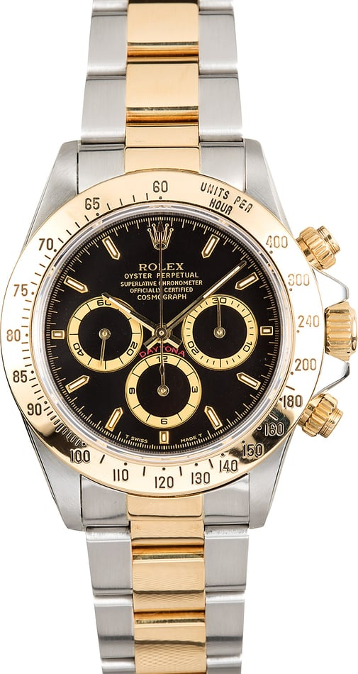 Rolex Daytona Black 16523 Two-Tone