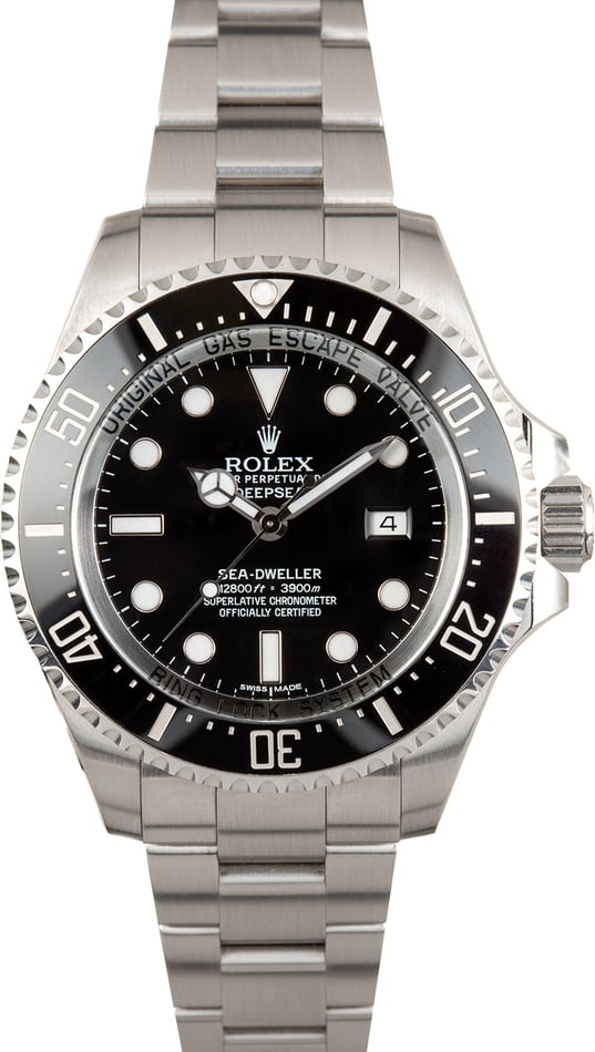 Rolex Deepsea 116660 Black 44MM