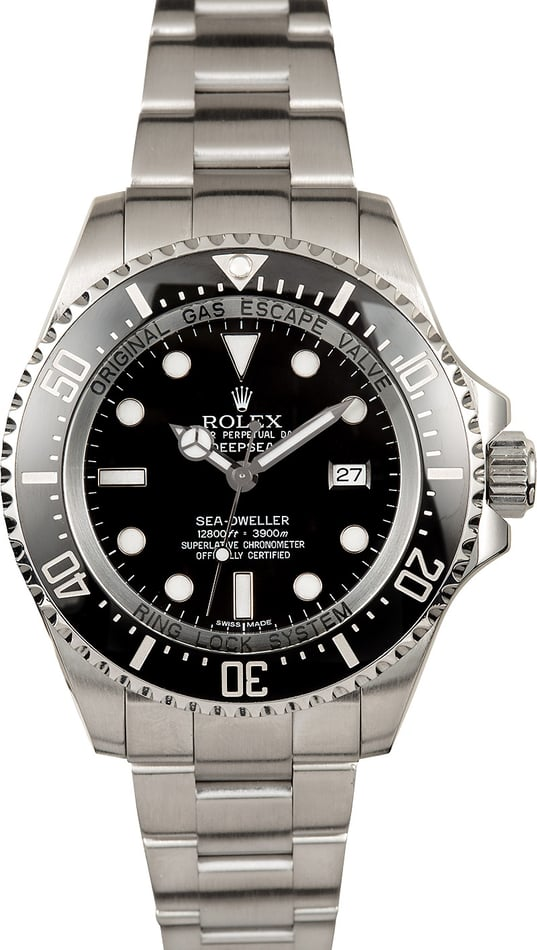 Rolex Deepsea Sea-Dweller 116660 Black Ceramic TT