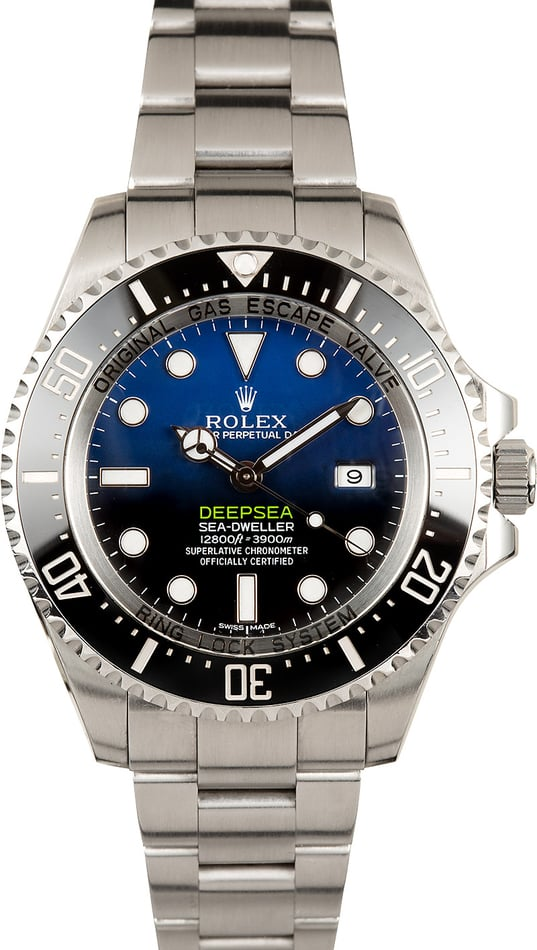 Rolex Deepsea 116660B James Cameron Blue