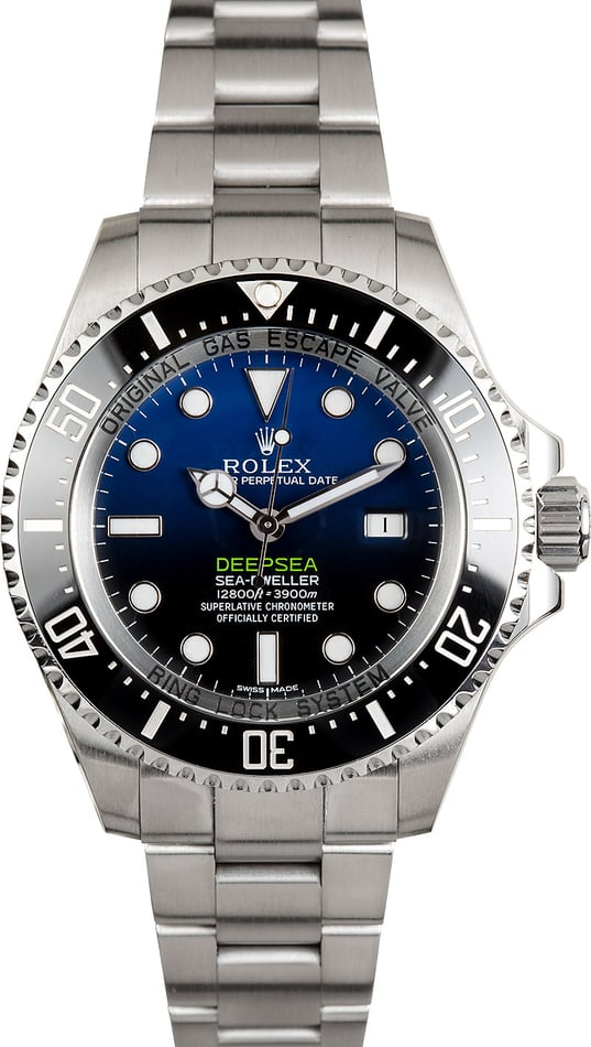 Rolex Deepsea 116660B D-Blue Gradient Sea-Dweller