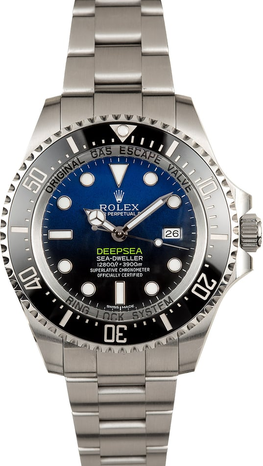 Rolex Deepsea Blue 116660 100% Authentic