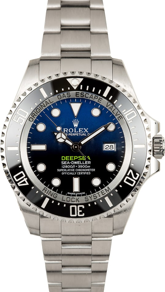 Rolex Deepsea Blue 116660B Pre-Owned Watch