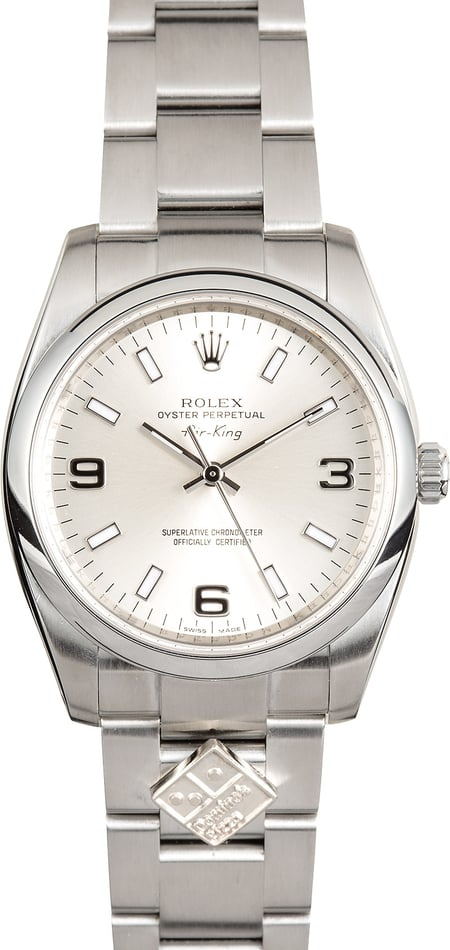 Rolex Domino's Air-King 114200
