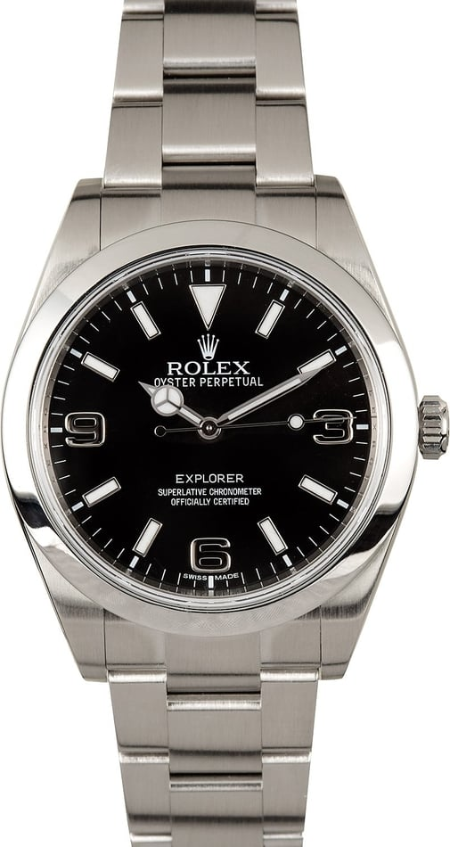 Rolex Explorer 1 214270 Certified Pre-Owned