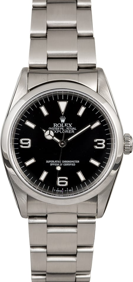 Rolex Explorer 14270 Luminescent Markers