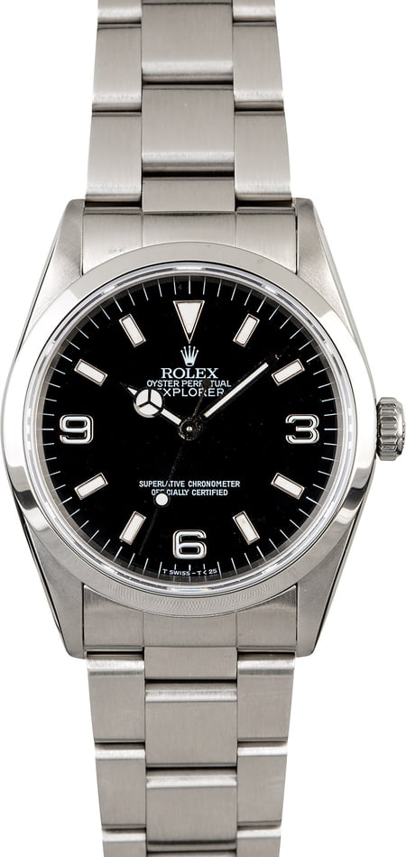 Men's Used Rolex Explorer 14270