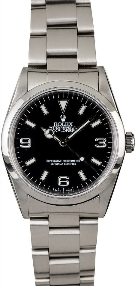Rolex Explorer 14270 Smooth Bezel