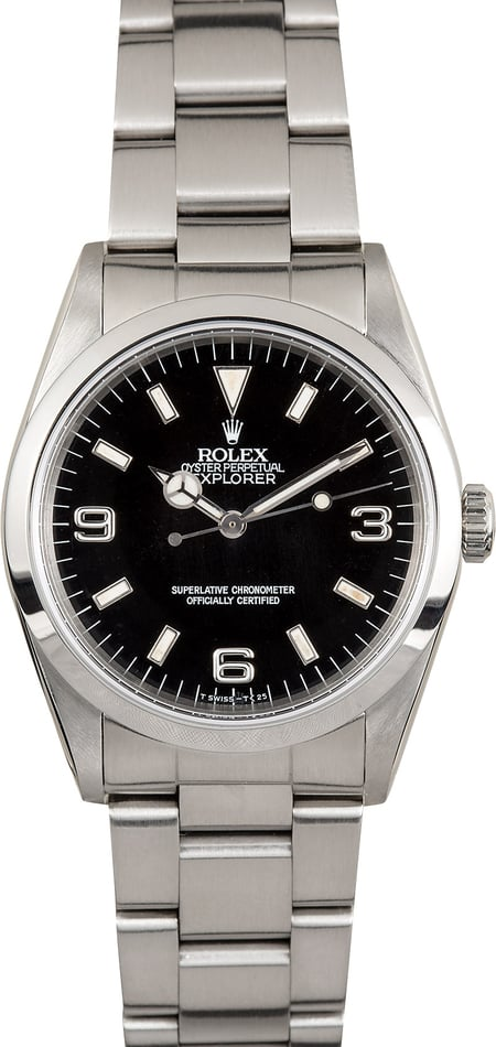 Rolex Explorer 14270 Black 36MM