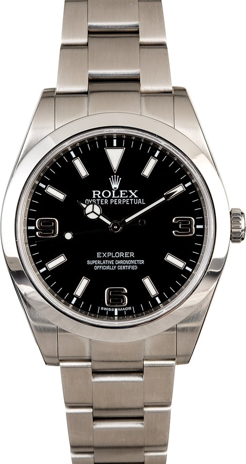 Rolex Explorer 214270 Stainless Steel Men's Watch