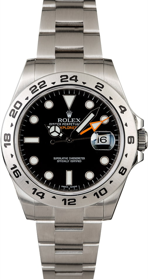 Rolex Explorer II Ref 216570 Orange GMT Hand