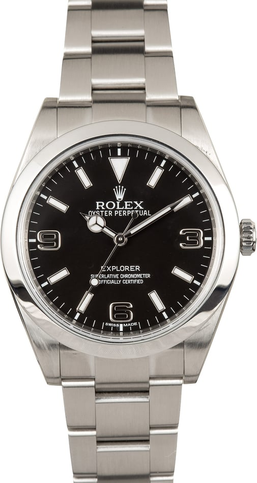 Rolex Black Explorer 214270 39MM
