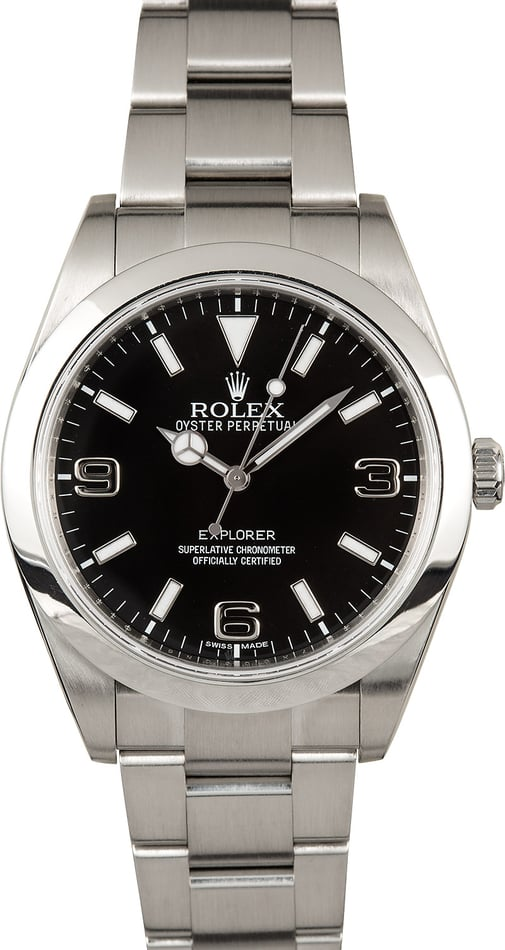 Rolex Explorer I 214270 Certified Authentic