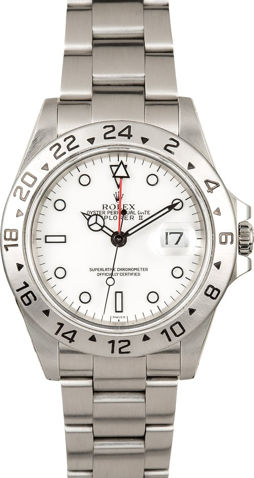 Rolex Explorer II Men's Stainless Steel 16570