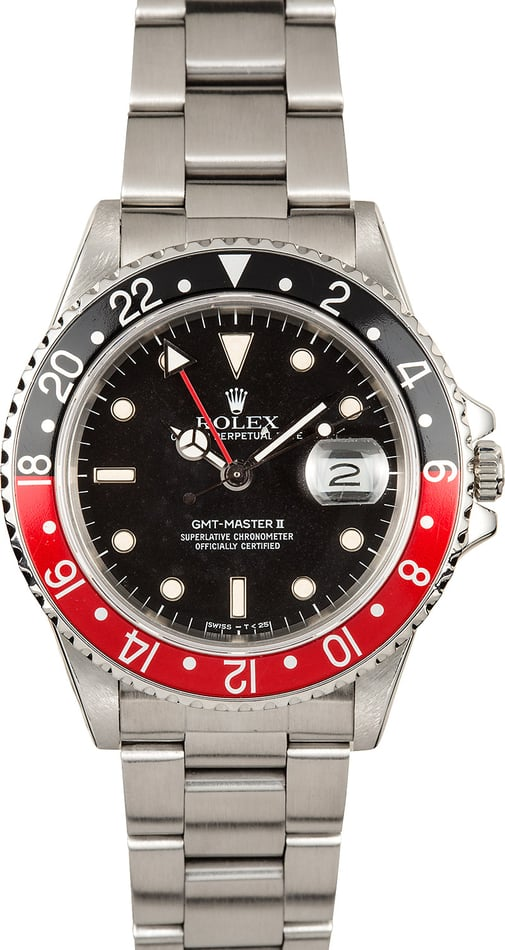 "Rolex ""Fat Lady"" GMT-Master II 16760"