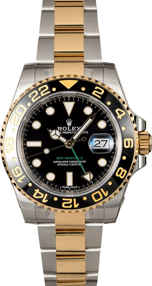 Rolex GMT-Master II Ref. 116713 Two Tone Oyster