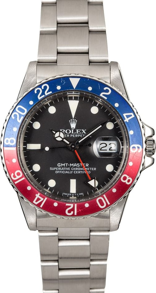Men's Rolex GMT-Master II 16750
