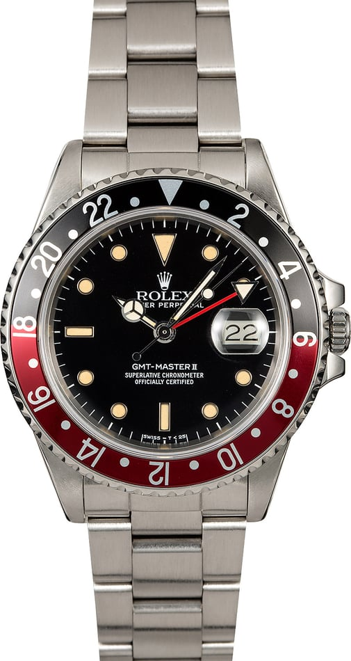 Rolex GMT-Master II Ref. 16760 'Fat Lady Coke'