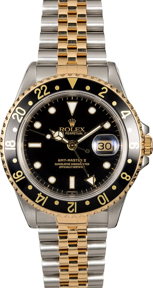 Pre-Owned Rolex GMT-Master II Ref 16713
