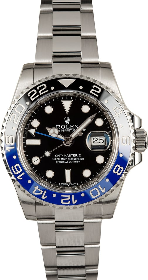 Rolex GMT Master II 116710 Ceramic Batman Bezel