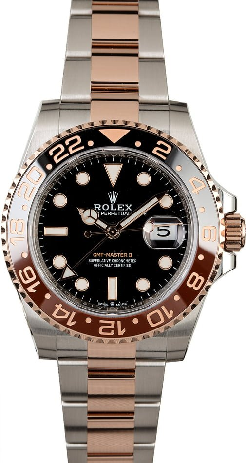 Unworn Rolex GMT-Master II Ref 126711 New 'Root Beer' Model