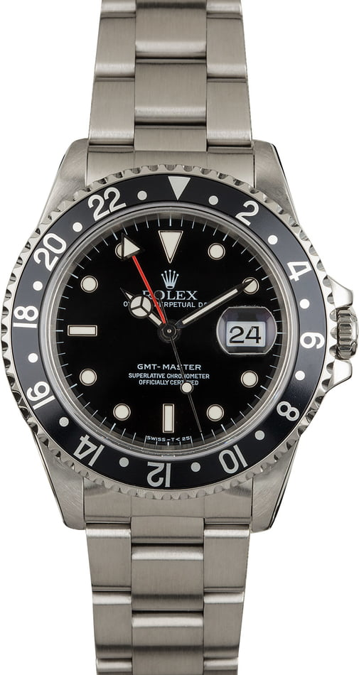 Men's Rolex GMT-Master 16700 Steel Oyster Used