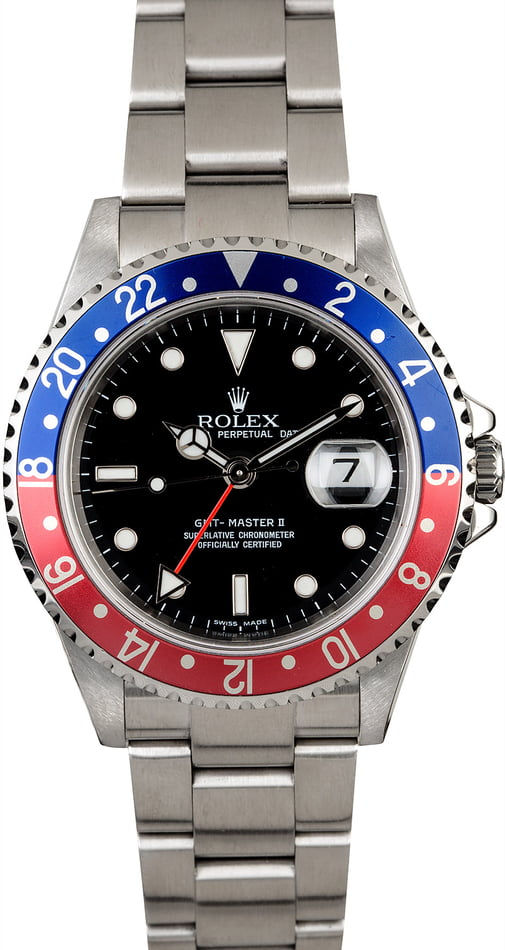 PreOwned Rolex GMT-Master II 'Pepsi' 16710