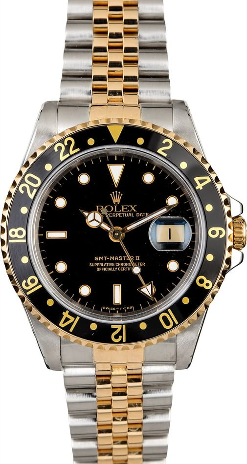 Men's Rolex GMT-Master II Ref 16713