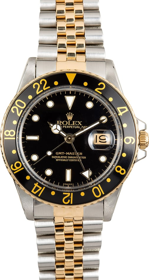 Rolex GMT-Master 16753 Black Dial Jubilee