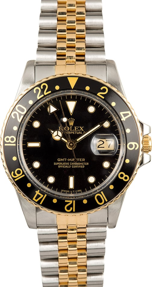 Rolex GMT-Master 16753 Two-Tone Jubilee