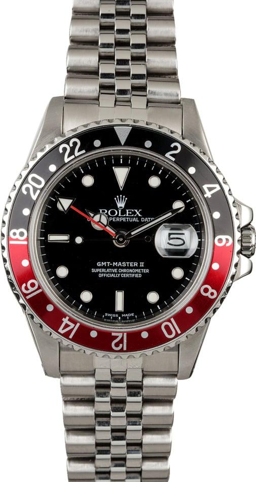 Rolex GMT-Master II 'Fat Lady Coke' 16760 Jubilee