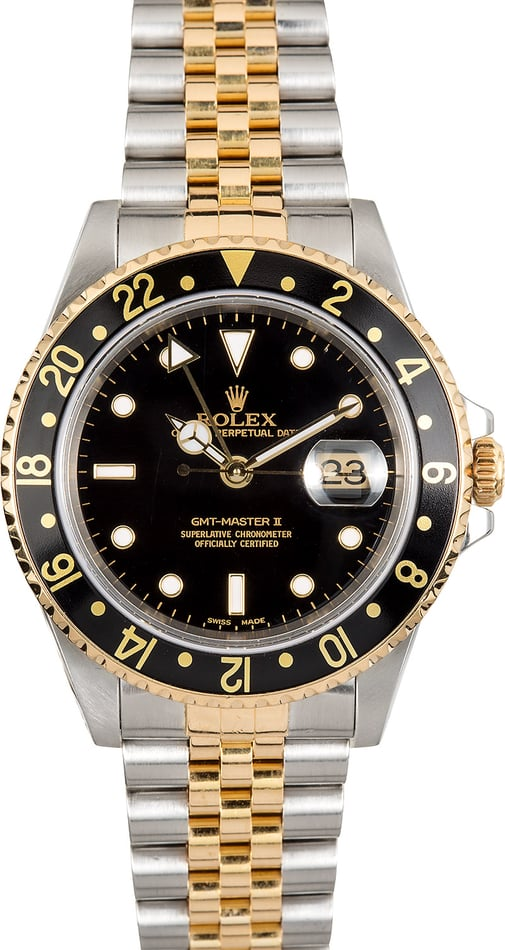 Rolex GMT-Master 2 16713 Two-Tone Jubilee