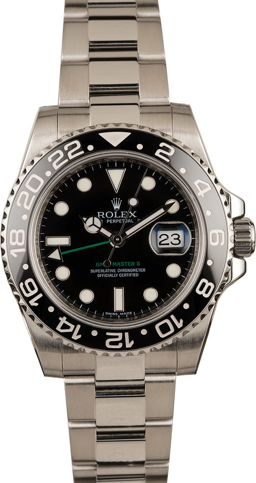 Men's Rolex GMT-Master II Model 116710