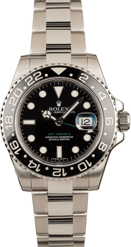 Rolex GMT-Master II Model 116710 Ceramic Bezel