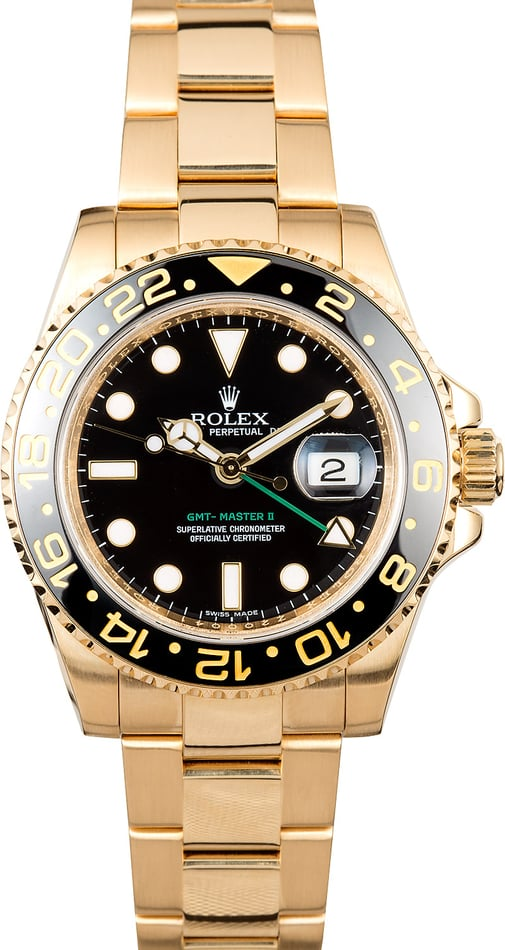 gmt master 2 gold