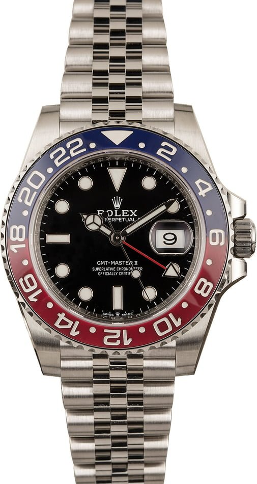 Pre-Owned Rolex GMT-Master II Ref 126710 Ceramic 'Pepsi' Model