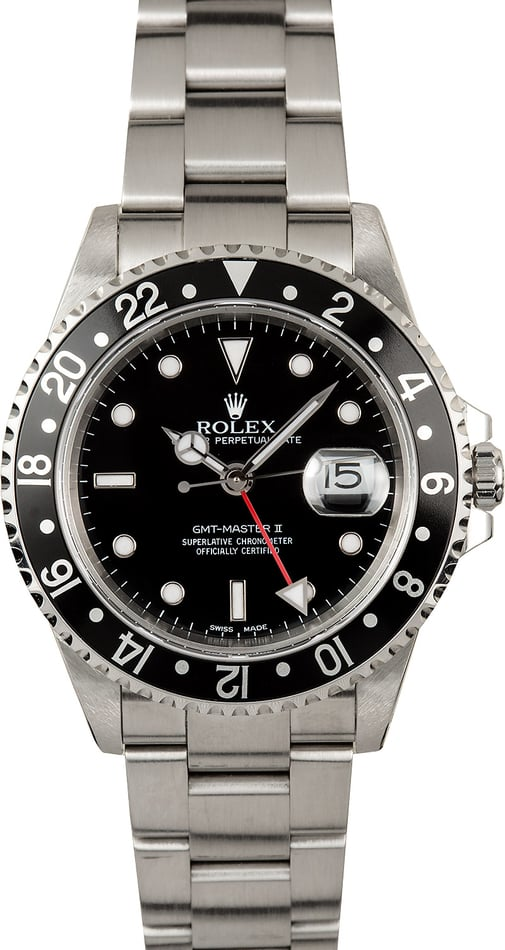 Rolex GMT Master II 16710 Red GMT Hand