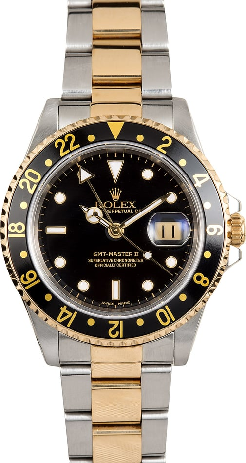 Rolex GMT Master II 16713 Black