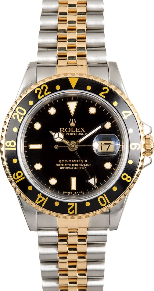 Rolex GMT-Master II 16713 Steel and Gold Jubilee