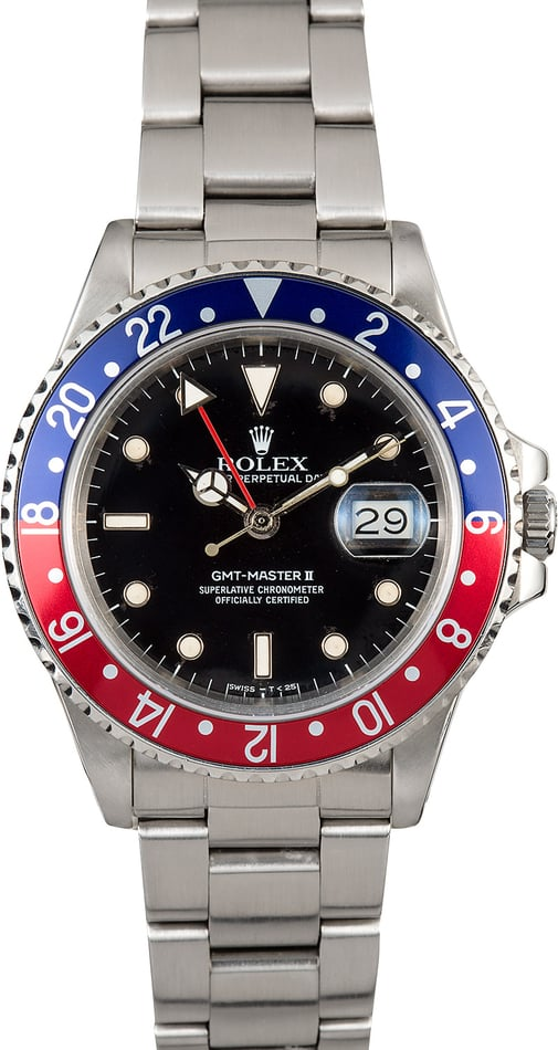 "GMT-Master II Rolex 16760 ""Fat Lady"""