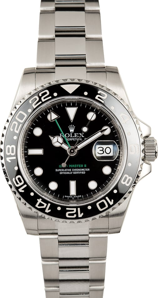 Rolex GMT-Master II Black Ceramic 100% Authentic