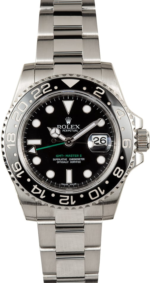 Rolex GMT-Master II Ceramic 100% Authentic