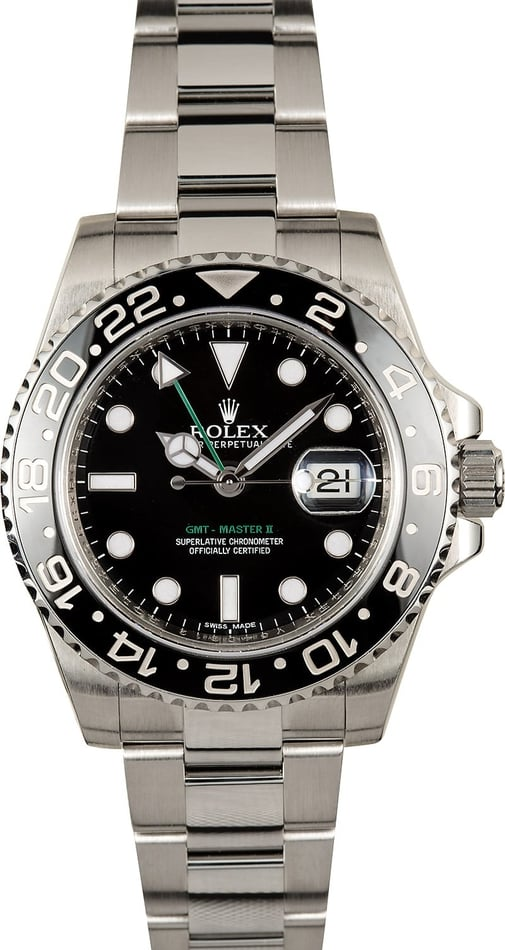 Rolex GMT Master II Black Ceramic 116710